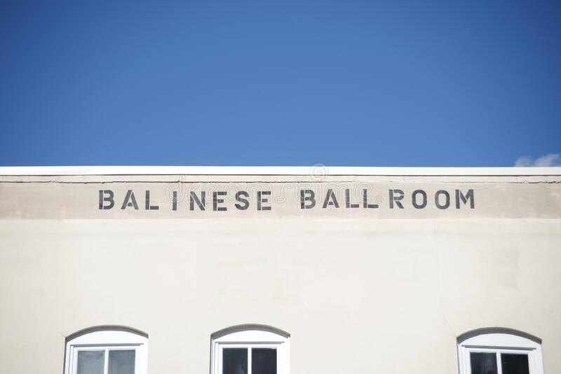 Balinese Ballroom Building, Memphis, TN royalty free stock images