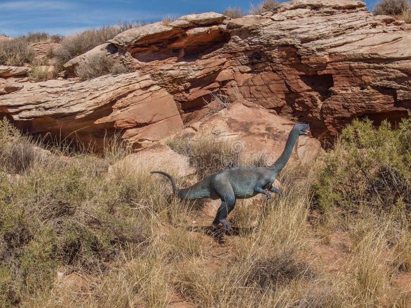 Moab Giants Museum in Utah stock photos