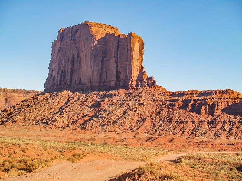 Monument Valley Sandstone Formation stock photos