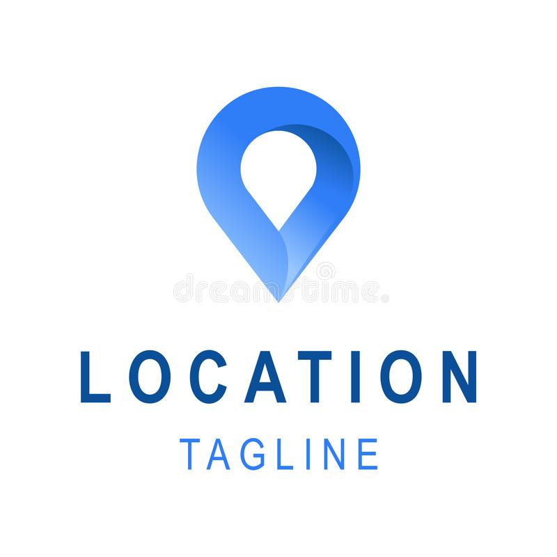 Location Icon Template Business Logo Design With Tagline Space