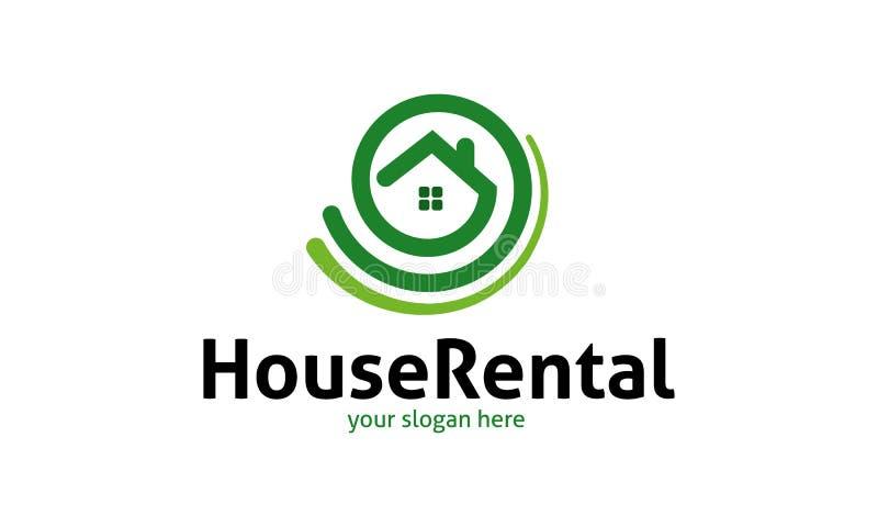 Location Logo Template de Chambre illustration libre de droits