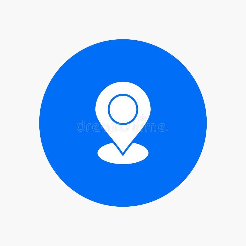 Location, Map, Marker, Pin royalty free illustration