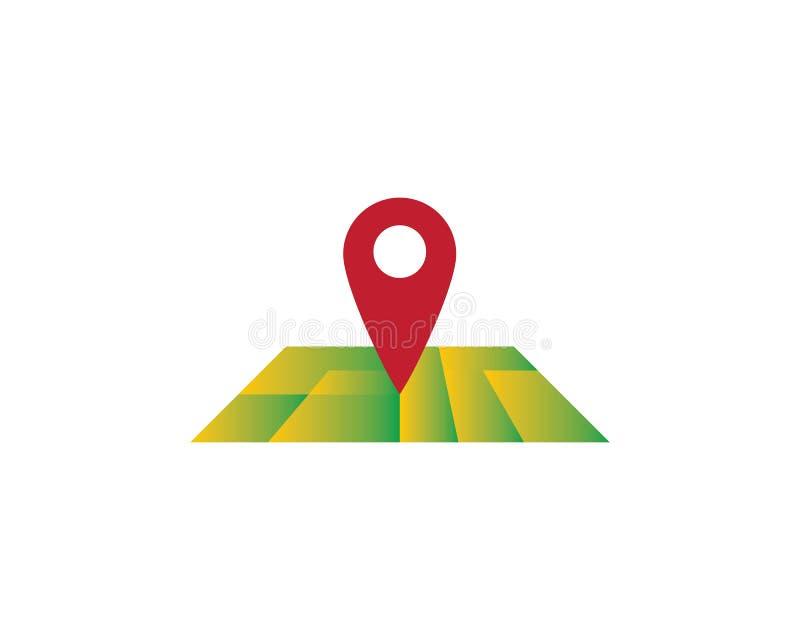Location point Logo royalty free illustration
