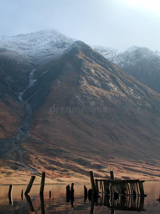loch молы ben starav Шотландии etive старое стоковая фотография