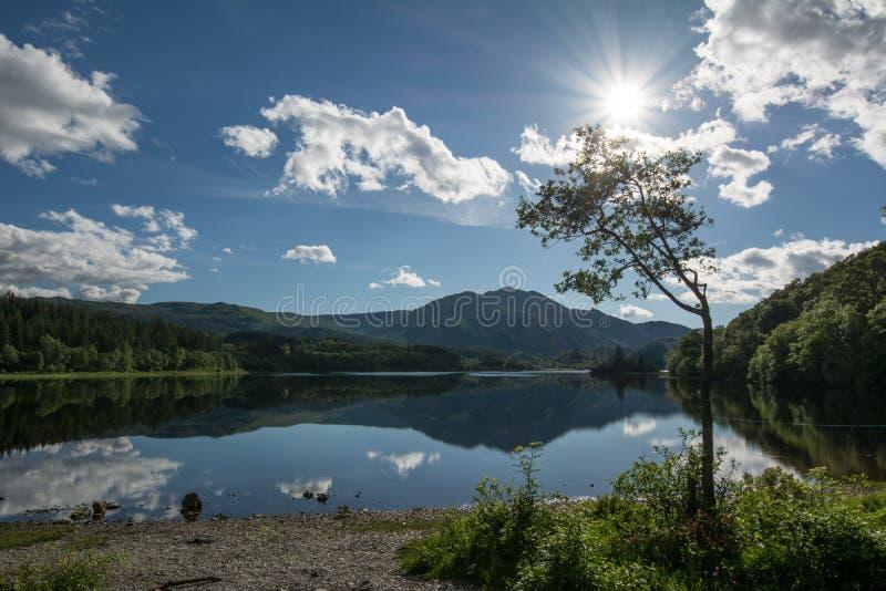 Loch Achray photo stock