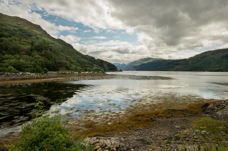 Loch Alsh stockbilder