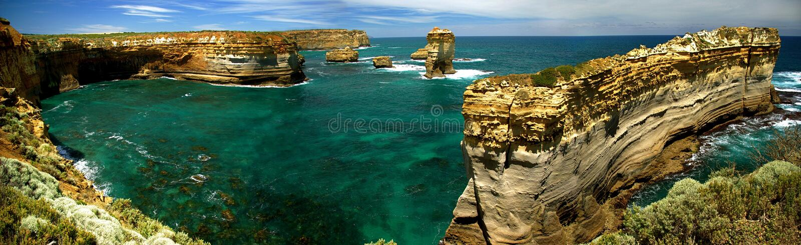 Loch Ard Gorge royalty free stock image