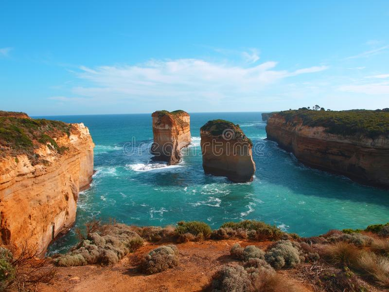 Loch Ard Gorge Great Ocean Road stock photography
