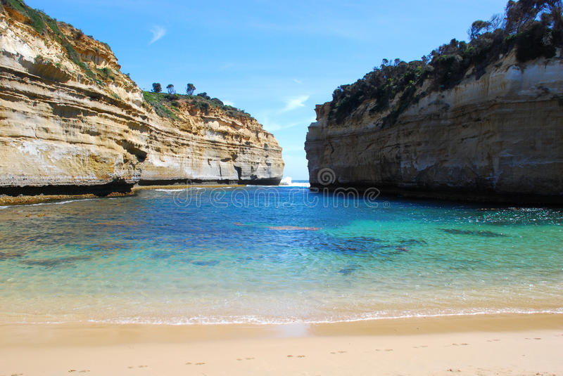 Loch ard gorge. Port Campbell National Park royalty free stock photography