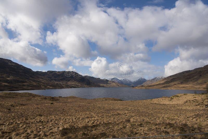Loch Arklet obrazy stock