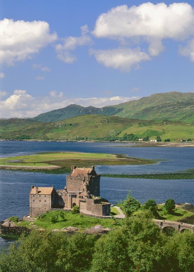 Eileann Donan castle, Kintail, Scotland royalty free stock photo