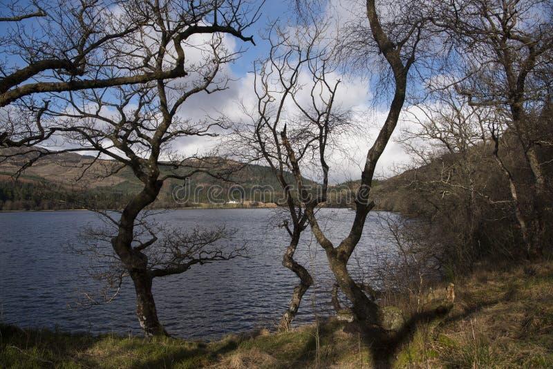 Loch Chon royalty free stock image