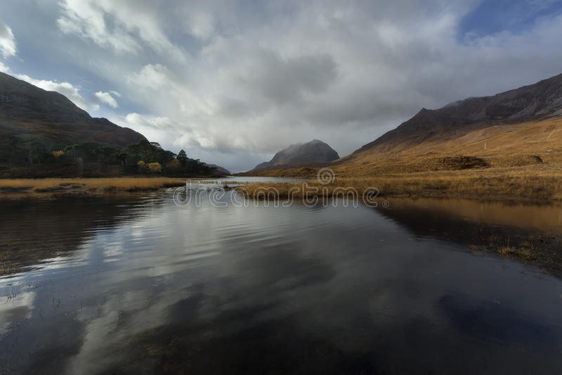 Loch Clair lizenzfreie stockfotos