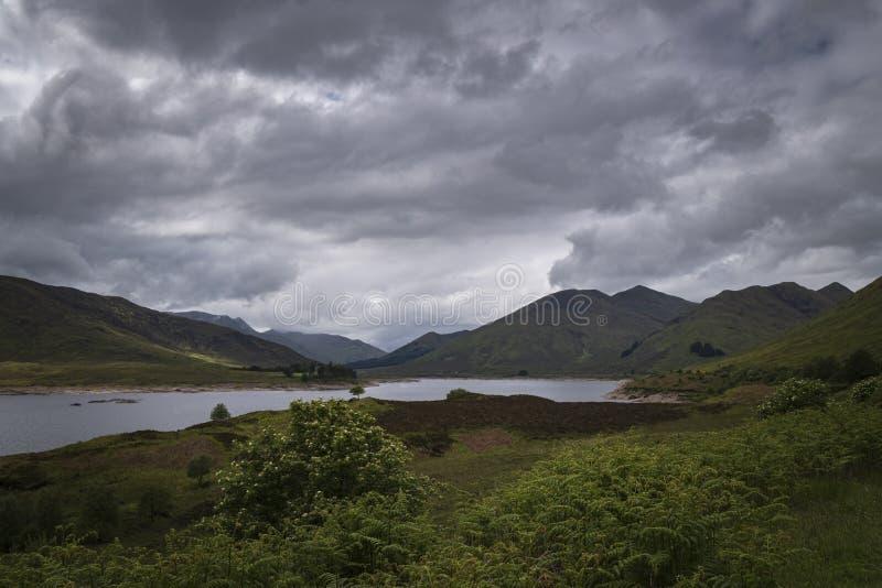 Loch Cluaine stock photography