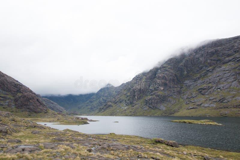 Loch Coruisk, Insel Skye stockfotos