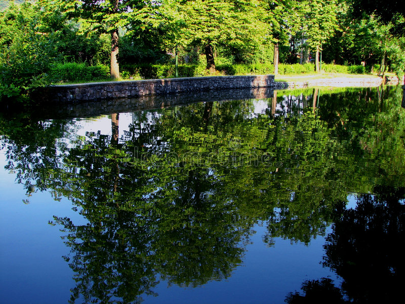 Loch de Belgrade photos stock
