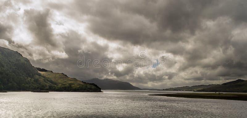 Loch Duich image stock