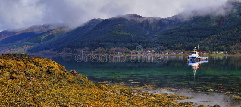 Loch Duich стоковая фотография