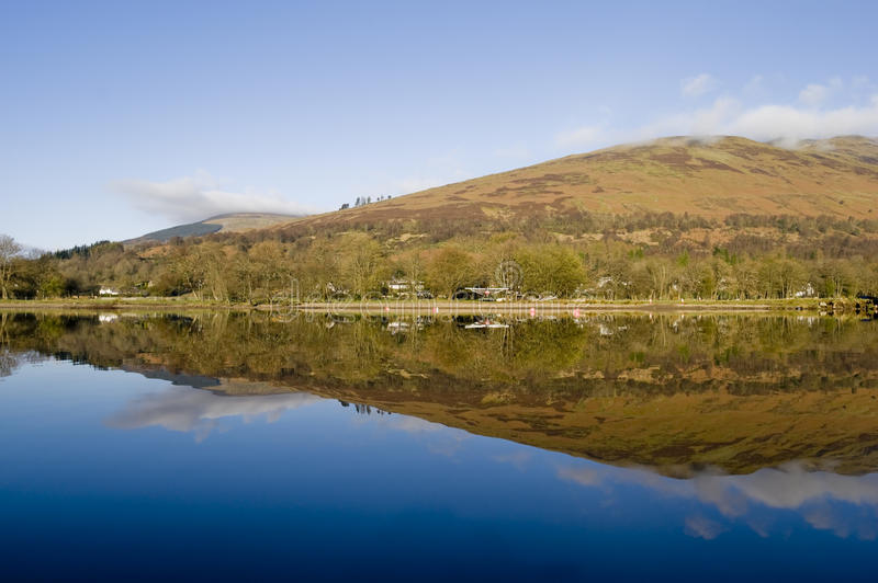 Download Loch Earn stock photo. Image of nobody, scotland, summer - 13762416