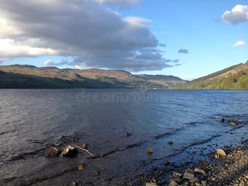Loch Earn stock photos