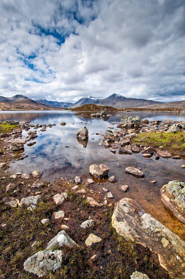 Loch Eilt, Schotland stock fotografie