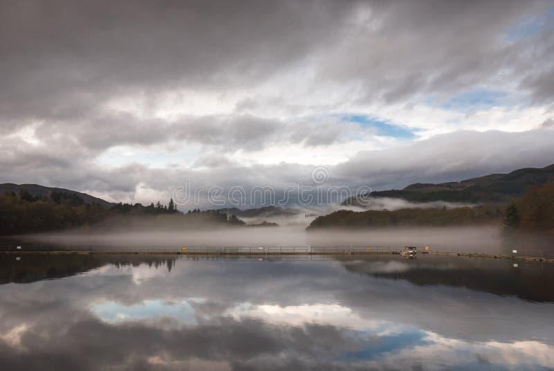 Loch Faskally foto de stock