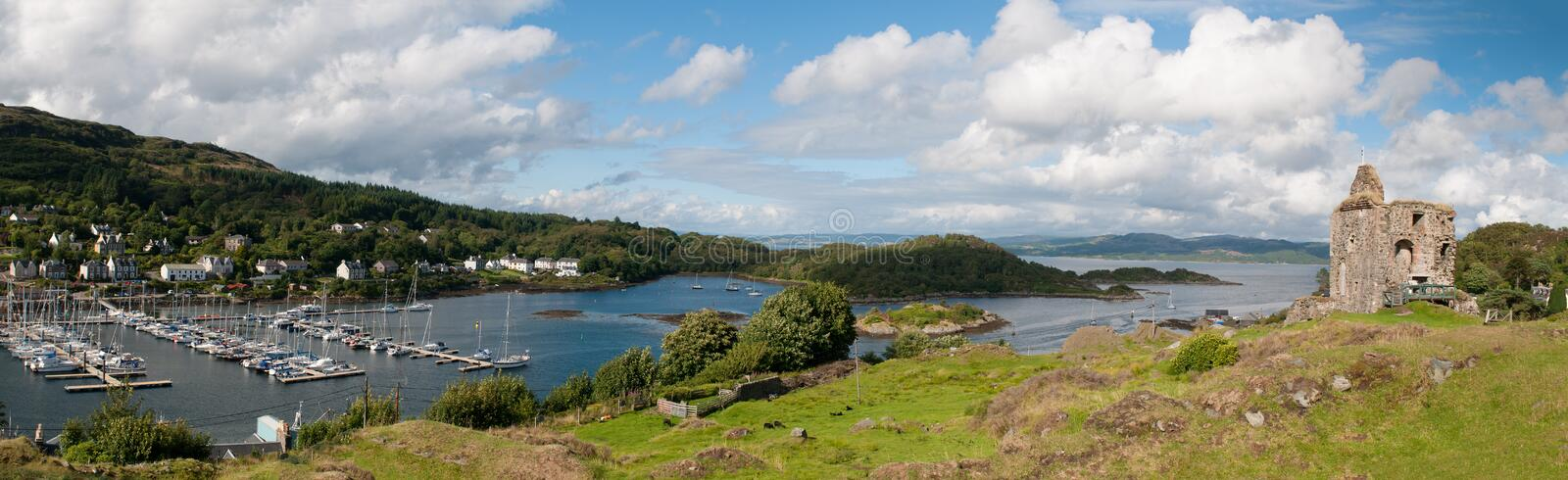 Loch Fyne de Tarbert, photos stock