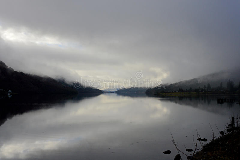 Loch Fyne, Ecosse image stock