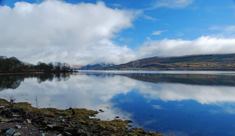 Loch Fyne, Ecosse image libre de droits