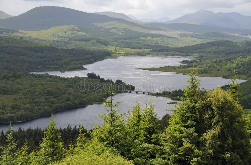 Loch Garry fotos de stock royalty free