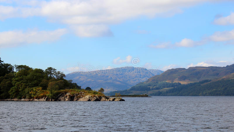 Loch Katrine, Schottland stockbilder