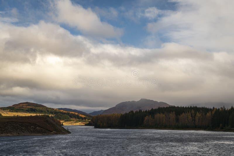 Loch Laggan royalty free stock photography