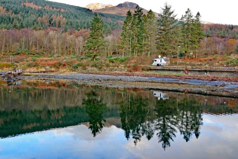 Loch lang, Schottland lizenzfreie stockfotografie