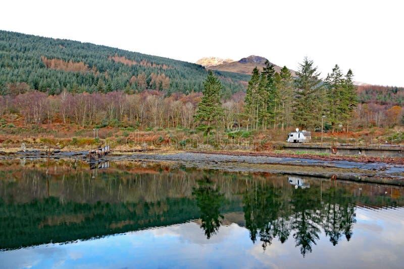 Loch lang, Schottland lizenzfreies stockfoto