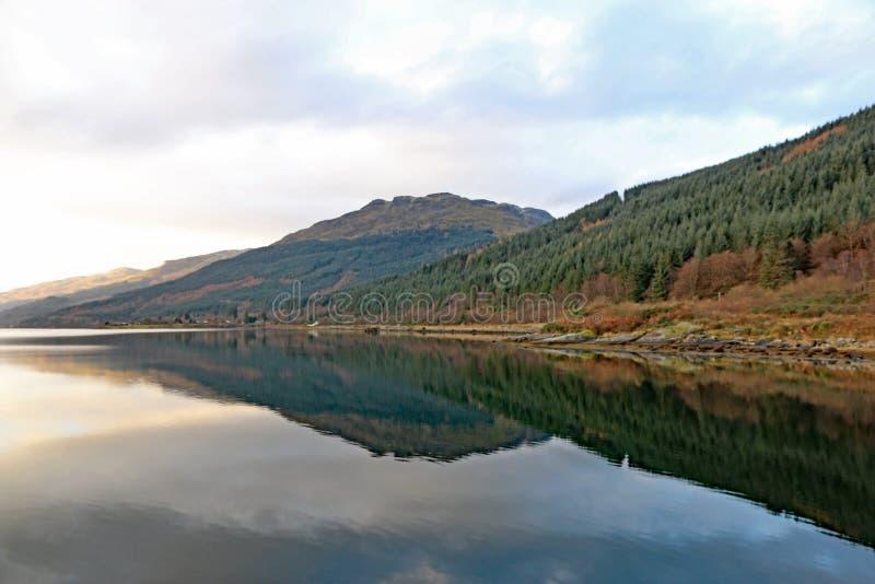 Loch lang, Schottland stockfoto