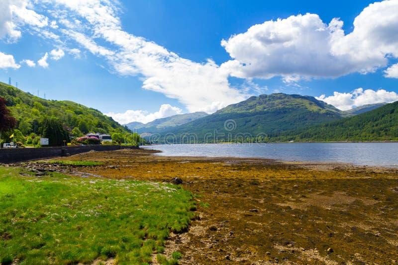 Loch langes Schottland lizenzfreies stockfoto