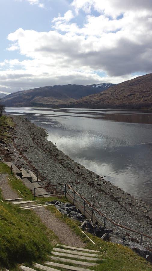 Loch Linnhe royalty-vrije stock afbeeldingen