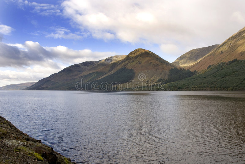 Loch Lochy, Scotland stock photography