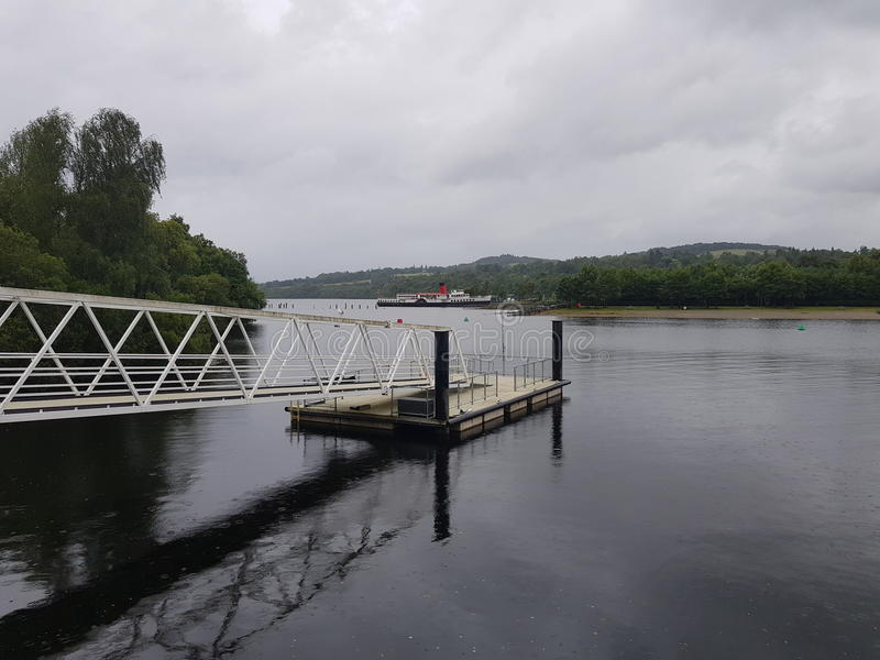 Loch Lommond obrazy royalty free