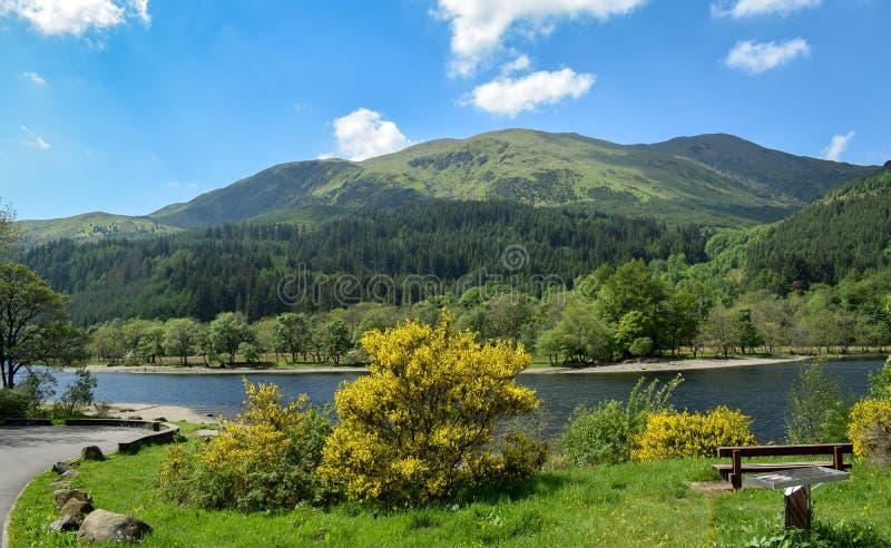 Loch Lomond stockfoto