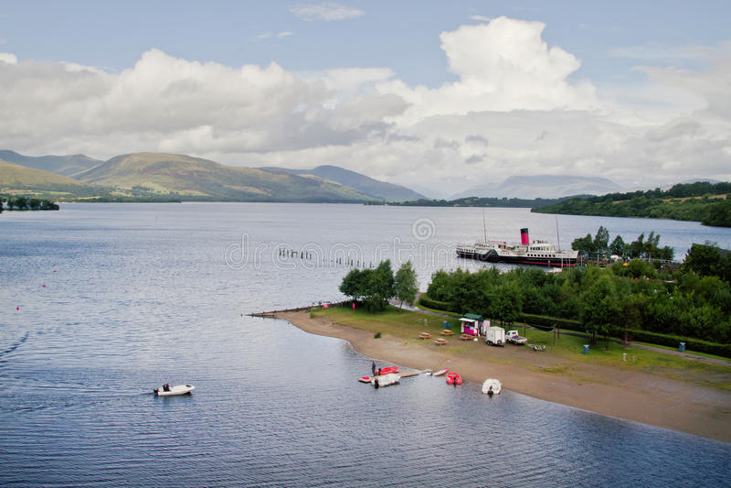 Loch Lomond стоковое изображение