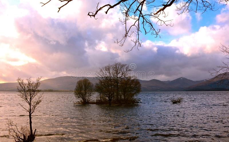 Loch Lomond fotos de stock