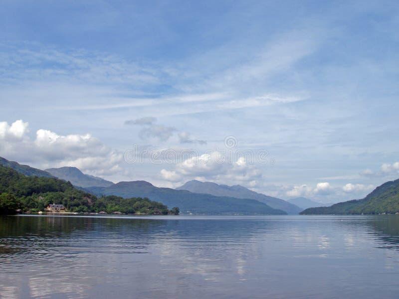 Loch Lomond immagine stock libera da diritti