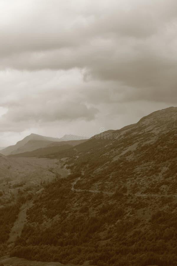 Loch Lomond, Ben Lorvich fotografia royalty free