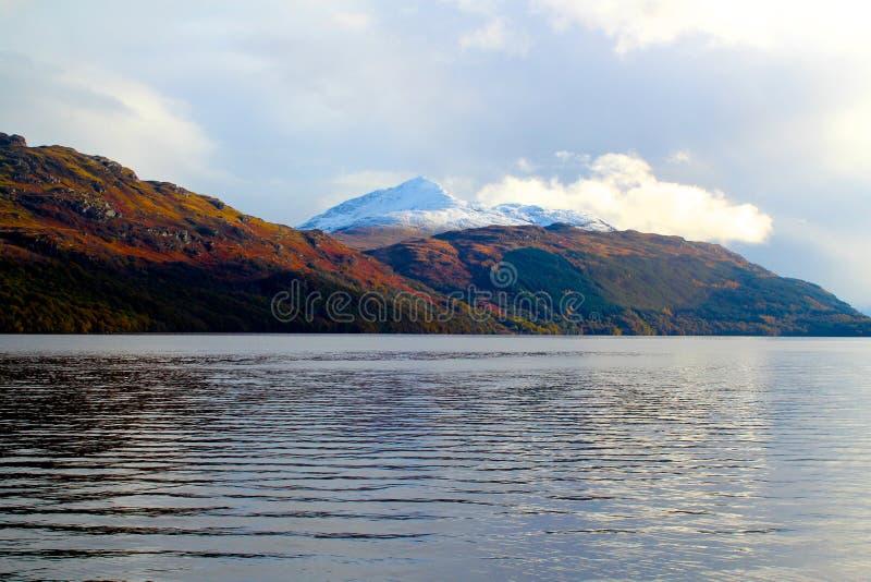 Loch Lomond, Glencoe, Шотландия стоковое изображение rf