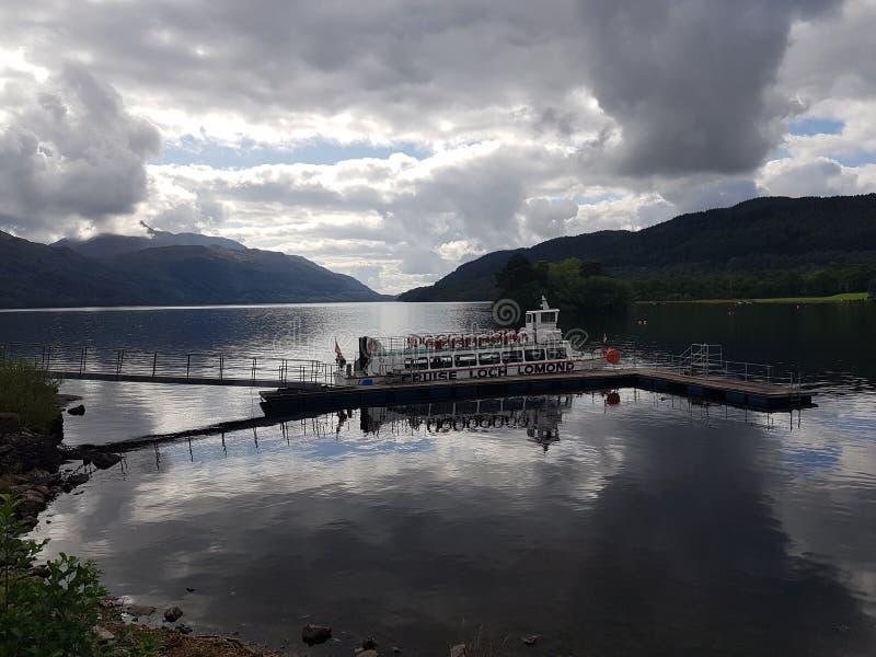 Loch Lomond korsning royaltyfri foto