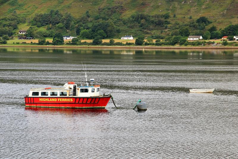 Loch Lomond, Scotland stock image