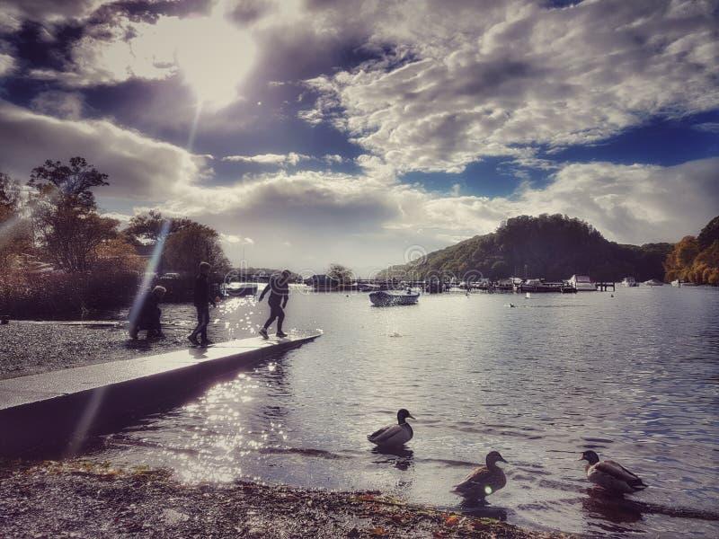 Loch Lomond Scozia fotografia stock libera da diritti