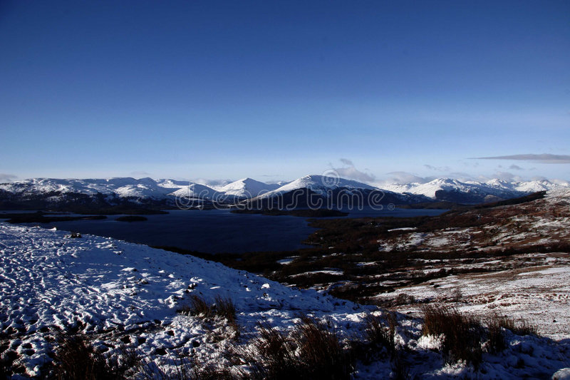 Loch- Lomondwinter stockfoto