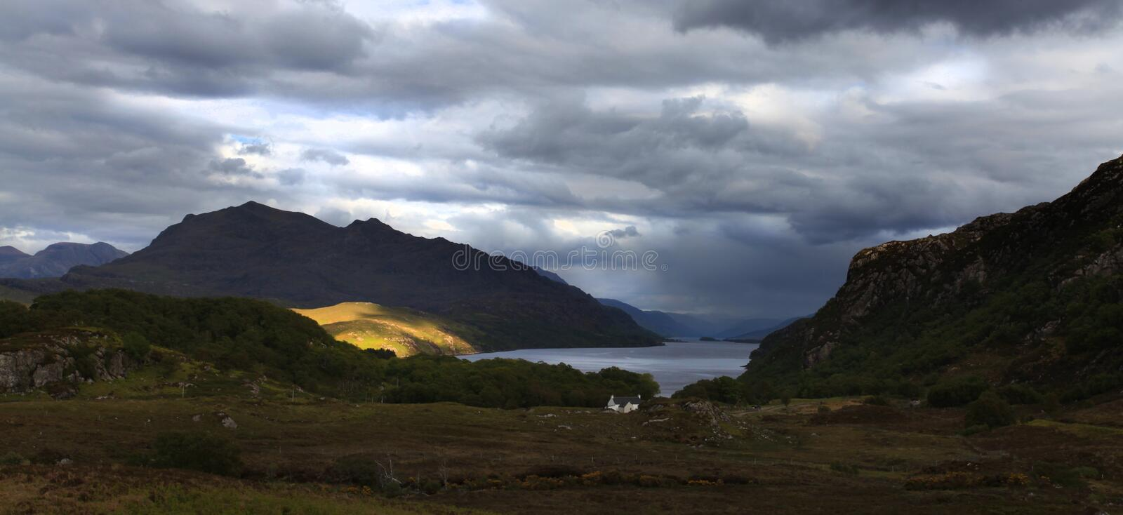 Download Loch Maree stock photo. Image of natural, maree, hill - 27874642